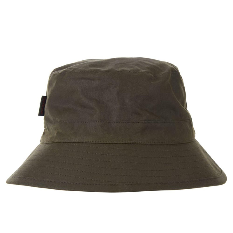 Barbour Mens Wax Sports Bucket Hat Archive Olive