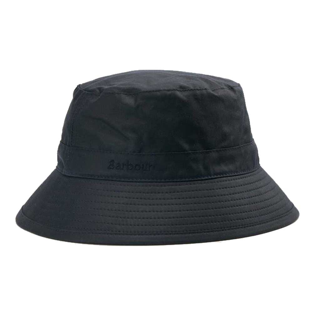 Barbour Mens Wax Sports Hat Navy