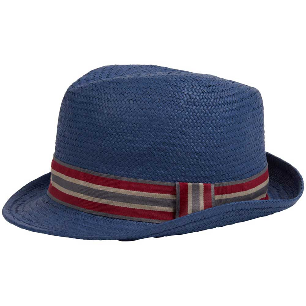 3c77bfd8 Barbour Men's Whitby Trilby Hat Navy Blue