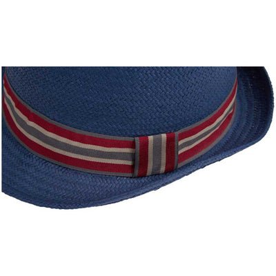 Barbour Men's Whitby Trilby Hat Navy Blue