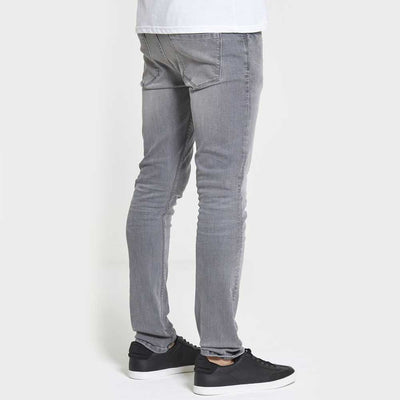 DML Jeans Chaos Skinny Stretch Jeans In Light Grey