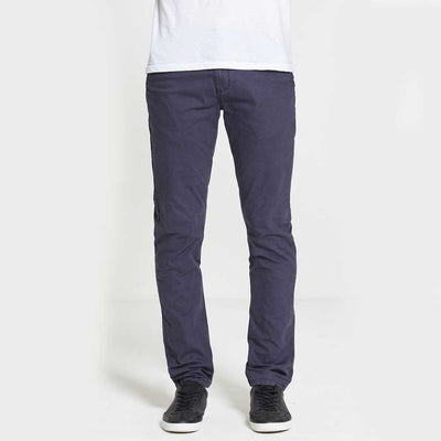 DML Jeans Sabre Slim Fit Stretch Chinos In Navy