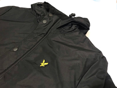 Lyle and Scott Technical Parker Jacket Jet Black