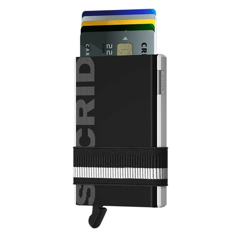 Secrid Cardslide Monochrome Black/White Wallet