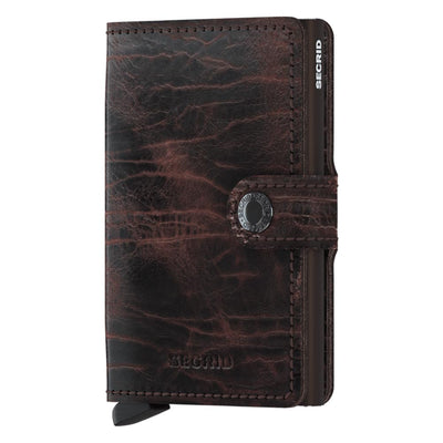 Secrid Miniwallet Dutch Martin Cacao Brown Leather Wallet