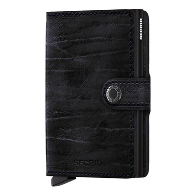 Secrid Miniwallet Dutch Martin Nightblue Leather Wallet