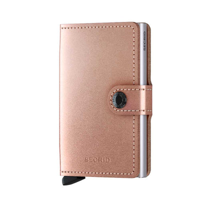 Secrid Miniwallet Metallic Rose Wallet