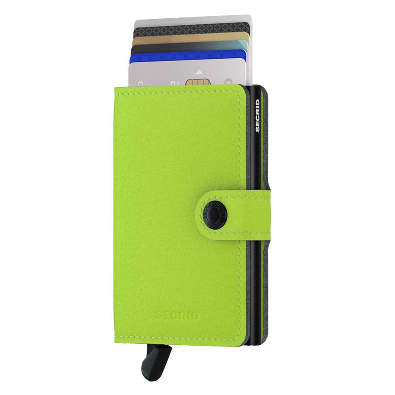 Secrid Miniwallet Yard Lime Wallet (Non-Leather)
