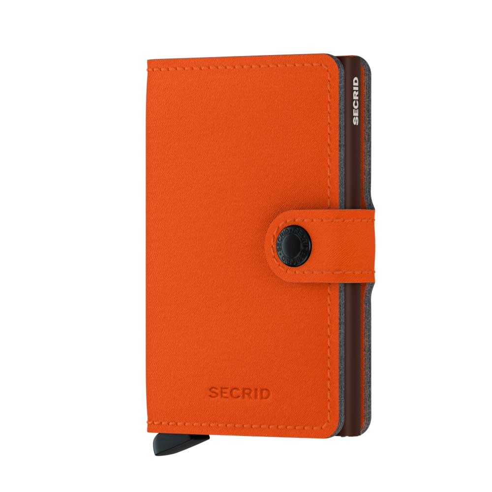 Secrid Miniwallet Yard Orange Wallet (Non-Leather)