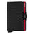 Secrid Twinwallet Cubic Black / Red Leather Wallet