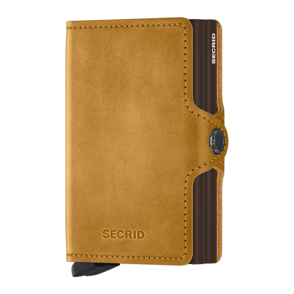 Secrid Twinwallet Vintage Ochre Leather Wallet
