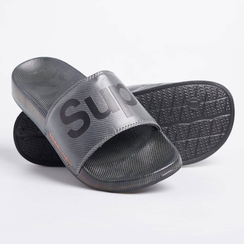Superdry Printed Beach Sliders Camo