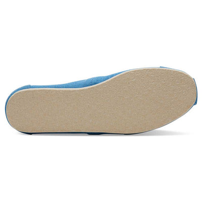 TOMS Men's Bliss Blue Heritage Canvas Classics Espadrilles