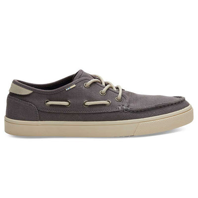 TOMS Men's Grey Canvas Dorado Sneakers
