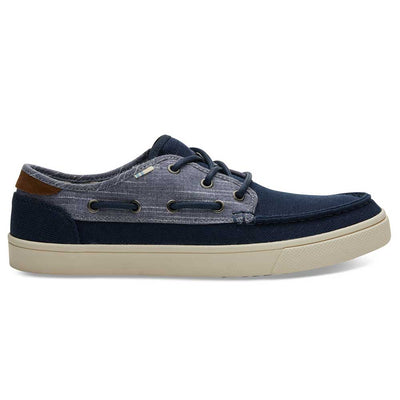 TOMS Men's Navy Chambray Dorado Sneakers