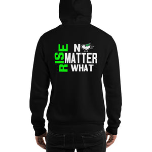 Rise No Matter What - Unisex Hooded Sweatshirt - Compassion Fashion4u