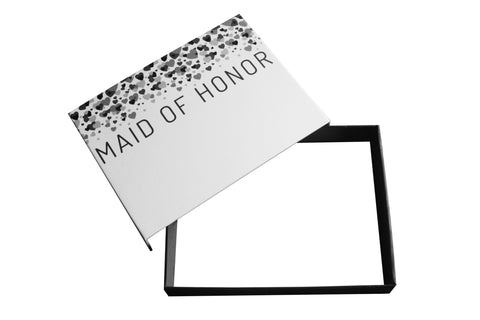Maid of Honor fill-in-the-blank gift box