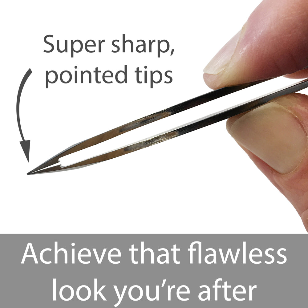 "super sharp pointed tips, ""achieve that flawless look you're after"""