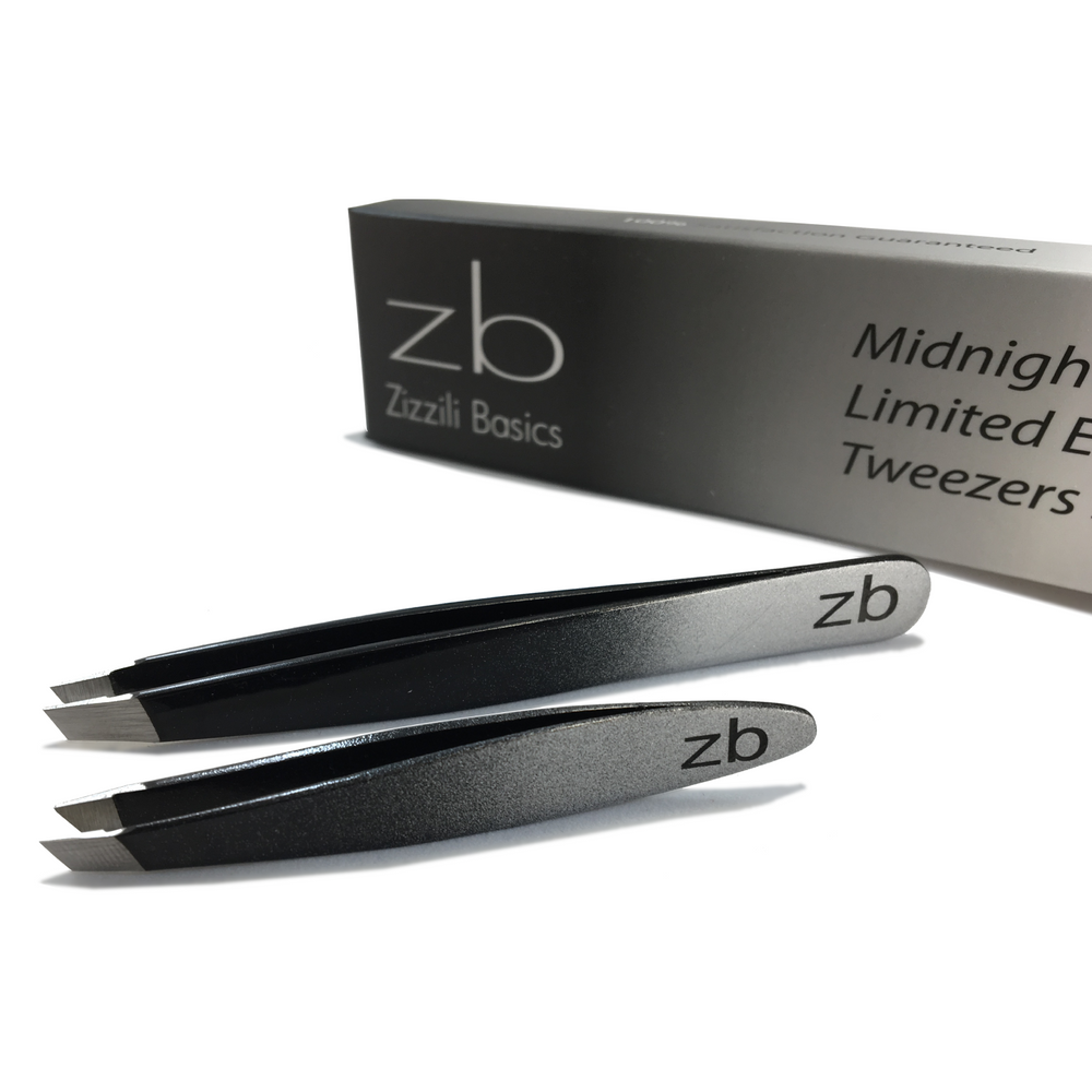 Limited Edition Midnight Ombre Slant Tweezers Set