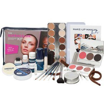 Kryolan Supracolor Theatrical Makeup Kit - Make It Up Costumes