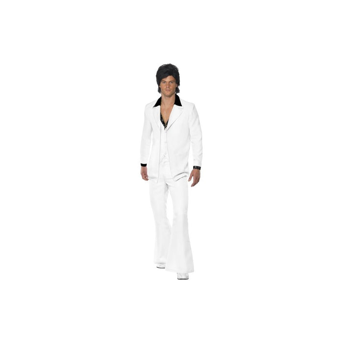 1970's Men's White Costume Suit - Make It Up Costumes