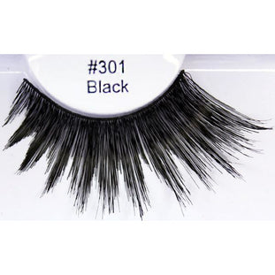 301 Glamour Eyez Lashes -100% human hair - Make It Up Costumes