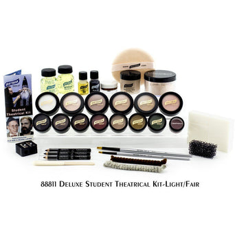 Graftobian Deluxe Theatrical Makeup Kit for Students - Make It Up Costumes