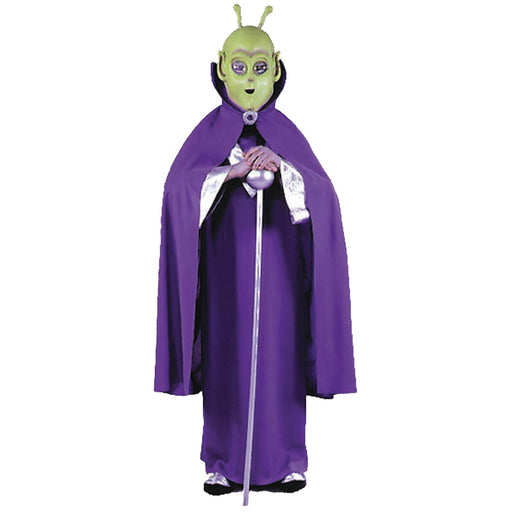 Alien Mask With Cape Child Costume - Make It Up Costumes