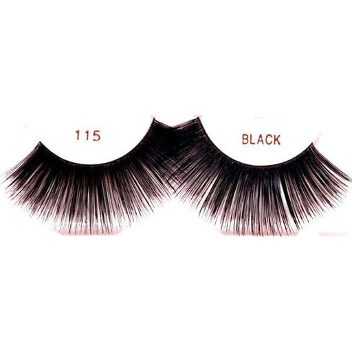 Ardell 115 Black Lashes - Make It Up Costumes