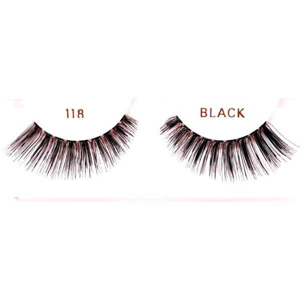 Ardell 118 Black Lashes - Make It Up Costumes