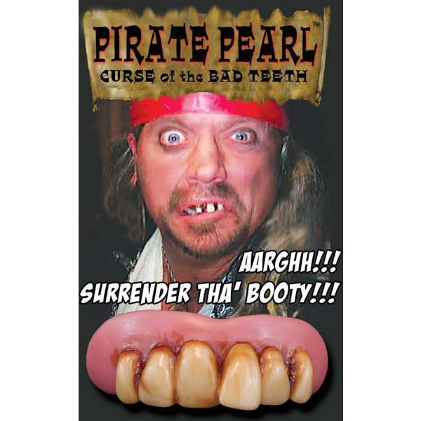 Billy-Bob Fake Pirate Teeth - Pirate Pearls - Make It Up Costumes