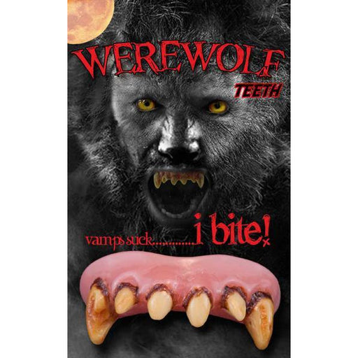 Billy-Bob Fake Werewolf Fangs - Make It Up Costumes