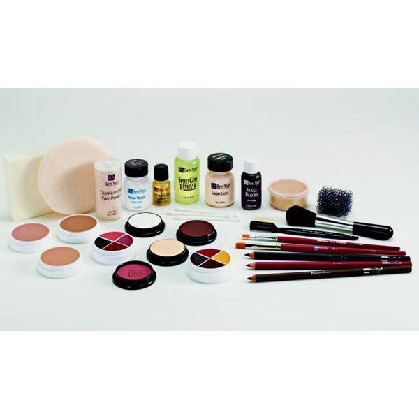 Ben Nye Theatrical Crème Makeup Kit - Make It Up Costumes