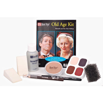Ben Nye Old Age Makeup Kit - Make It Up Costumes