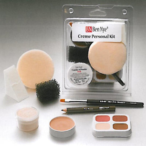 Ben Nye Personal Theatrical Makeup Kit - Make It Up Costumes