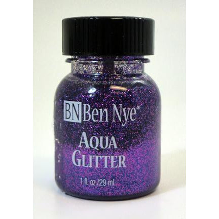 Ben Nye Aqua Glitter Body and Face Paint - Make It Up Costumes