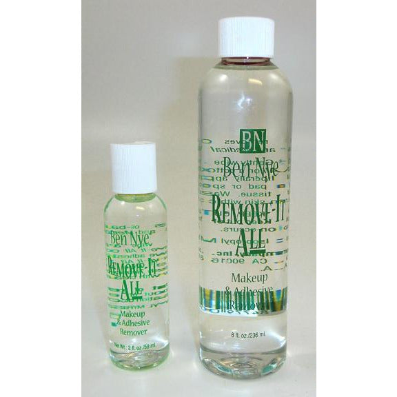 Ben Nye Remove-It All Spirit Gum and Makeup Remover - Make It Up Costumes