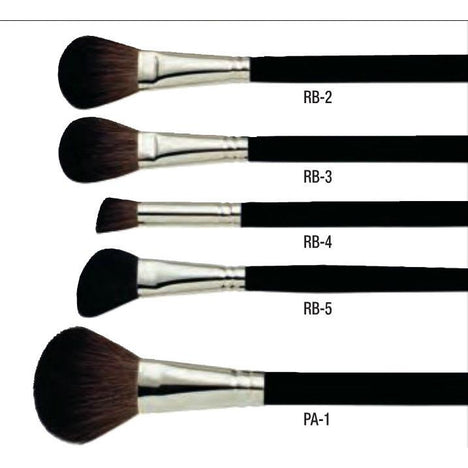 Ben Nye Professional Rouge and Powder Makeup Brushes - Make It Up Costumes