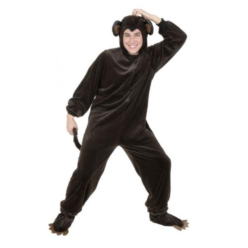 Monkey Costume for Adults - Make It Up Costumes