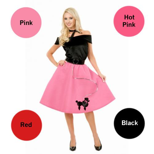 Adult Poodle Skirt - Make It Up Costumes