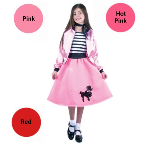 Child Poodle Skirts - Make It Up Costumes