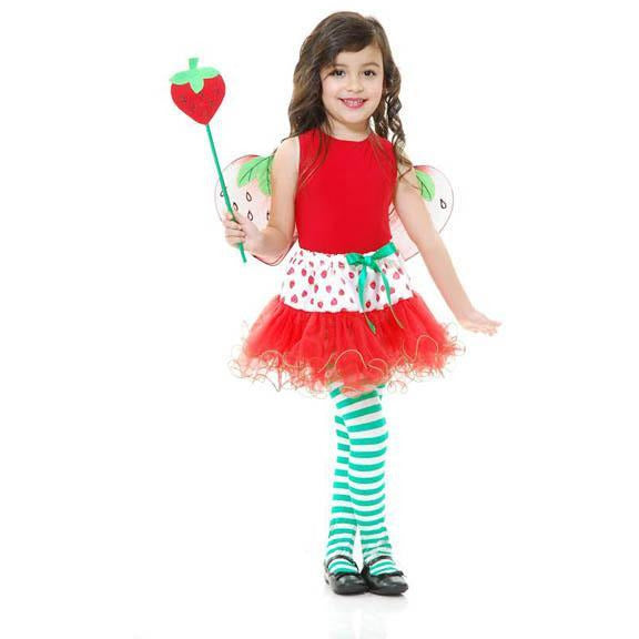 Girl's Strawberry Fairy Set - Make It Up Costumes