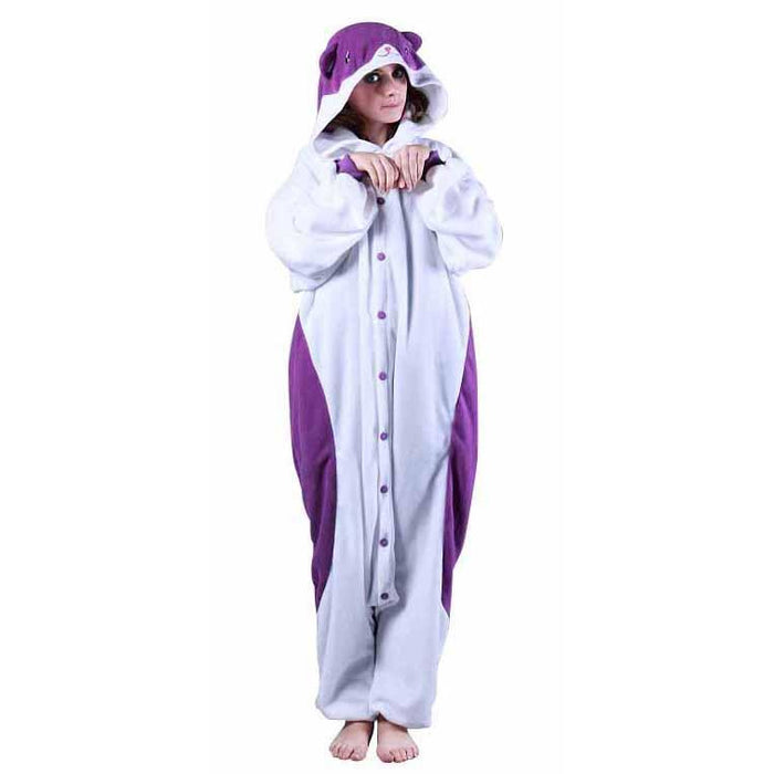 BCozy Cushi Purple Hamster Costume - Make It Up Costumes