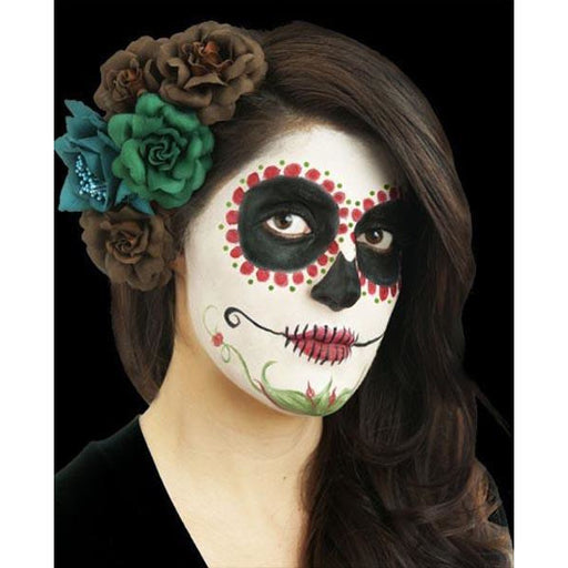 Woochie Day of the Dead Makeup Kit-Red - Make It Up Costumes