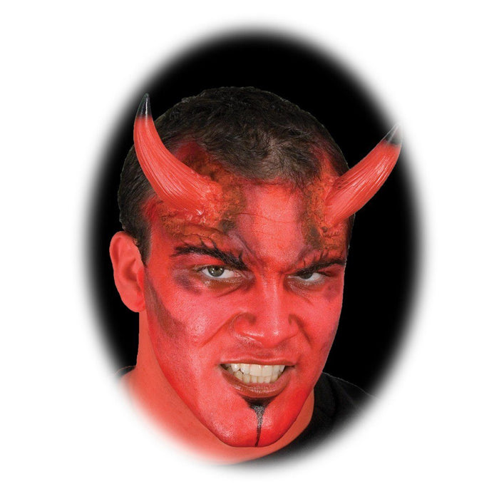 Woochie Prosthetic Devil Horns - Large - Make It Up Costumes