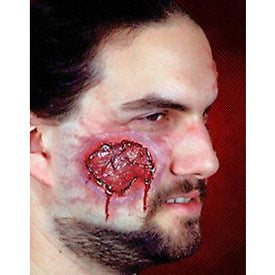 Woochie Fake Open Wound Prosthetic - Make It Up Costumes