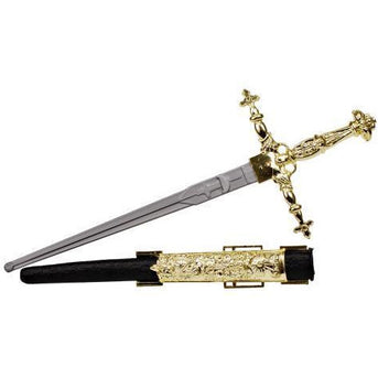 Plastic Toy Dagger - Royal Cross - Make It Up Costumes