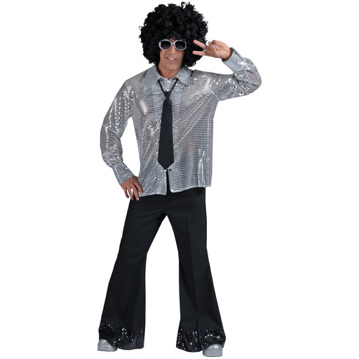 1970's Black Disco Pants - Make It Up Costumes