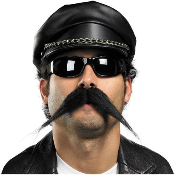 Fake Biker Mustache - Make It Up Costumes