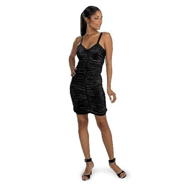 Black Velvet Costume Dress - Make It Up Costumes